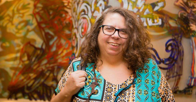A produtora cultural Guete Oliveira