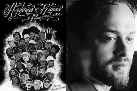 Pôster de Histórias e Rimas / Rodrigo Gianetto. Foto: Divulgação