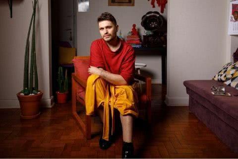 Diogo Locci, autor de Cruel. Foto: Felipe Djanikian