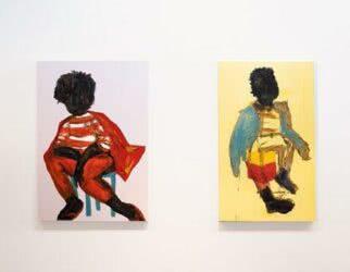 Obras de Aline Bispo - Foto: Divulgação/Galeria Luis Maluf