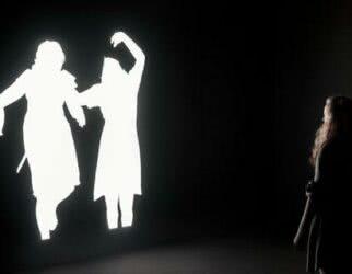Sombras  2014, Instalação Multimídia   Cortesia Galeria Luisa Strina, São Paulo e do artista, Nova York